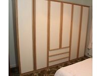 Bedroom wardrobes and chest of drawers