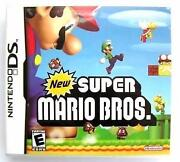 Nintendo DS Games Mario