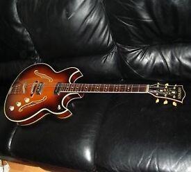 Hofner Ambassador 1966 semi-acoustic guitar