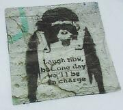Banksy Cushion
