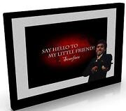 Framed Scarface Pictures
