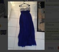 ROBE DE BAL. PROM DRESS