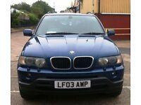 BMW X5 D SPORT ESTATE 2926cc (2003) DIESEL