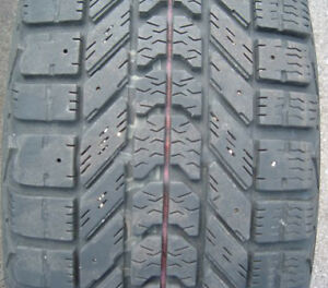 195/65/15 4 FIRESTONE WINTERFORCE TIRES ON RIMS London Ontario image 2