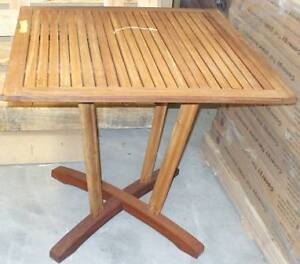 Wooden table 80x80cm. Good quality BNIB. Photo illustration only Wendouree Ballarat City Preview