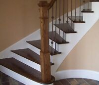 STAIRS & RAILINGS INSTALLATIONS & RESTORATION 647-849-1380