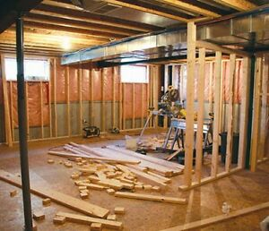 BASEMENT FINISHING & REMODELING! Financing available from $99/m