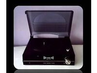 STEEPLETONE ST 926 - RECORD PLAYER/TURNTABLE - BLACK - FOR SALE