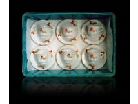 VINTAGE 'MADE IN CHINA' TEA CUPS AND SAUCERS - FOR SALE