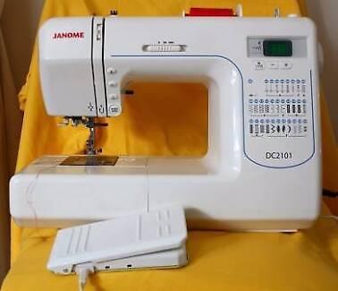 Janome DC2101 Sewing Machine new