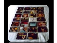 MUSIC CDS - COUNTRY SINGERS - (28 discs) - FOR SALE
