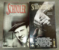 Mint VHS Shindlers List+Documentary