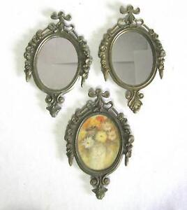 small oval picture frame