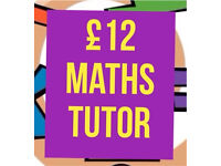 National 5 Maths Tutor £12 (current university medicine student)
