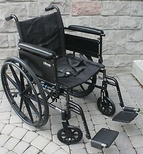 18 inch folding Wheelchair Drive Cruiser X4 Lightweight, Dual-Ax