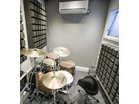 Drum Tuition - Ealing/Acton/Chiswick - Beginner Friendly - Top of the range facilities!