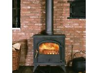 Franco-Belge Camargue multifuel / wood burning stove 10kw TOP OF THE RANGE