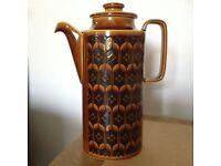 Hornsea Pottery Heirloom Coffee pot 1972 – brown