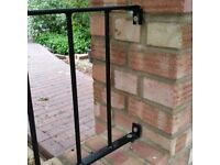 Railings - High quality. Galvanised steel and powder coated