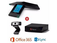 Polycom RealPresence Trio 8800 Collaboration Kit for Skype for Business (LynX Office 365)