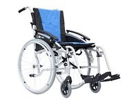 "Excel Glite Pro 18"" Wheelchair, as new"