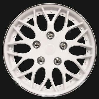 14 Quot White Hubcaps Car Amp Truck Parts Ebay