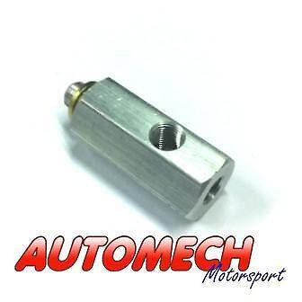 "Oil Pressure Gauge ""T"" Piece, M10x1 to 1/8NPT VW,Audi,Seat,Skoda Engines (050)"