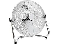 20 inch floor standing chrome fan cheap