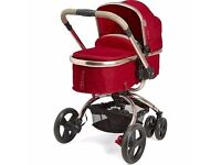 Red orb mothercare pram