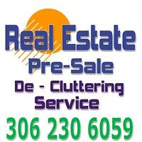 Down sizing or Pre- Sale home declutter service 306 230 6059