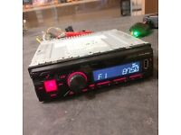 Alpine Bluetooth Head Unit - VGC - Car Stereo - Not Sony or Kenwood (UTE-72BT)