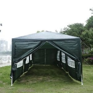 Green 10'x30' Party tent with 8 walls/ Master Shade Camping Tent Cambridge Kitchener Area image 1