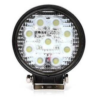 27W Epistar LED Work Flood Beam Light Lamp - ROUND OR SQUARE Malaga Swan Area Preview