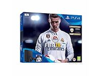 PS4 1TB FIFA 18 Bundle with GT Sport limited edition, Shadow of War !!