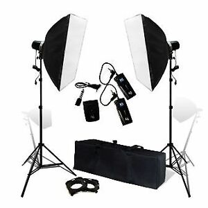 Photo Lighting and Backdrop Kit