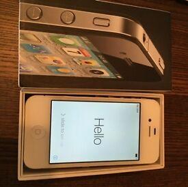 iPhone 4s 16GB White on Orange (EE)