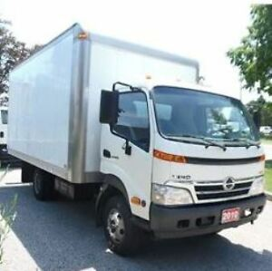 2010 Hino 155 LOADED, 20 FT ALUMINIUM HIGH BOX TRUCK, POWER OPTI