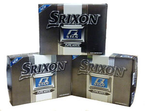 4 DOZEN BRAND NEW SRIXON Q STAR GOLF BALLS