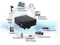 📽👀 PORTABLE 1080P HD PROJECTOR 👀🎥