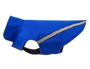 SMALL DOG COAT RC PETS, BLUE SIZE 12   Fits a Dog who weighs up