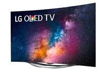 LG OLED 3D Smart Curved TV