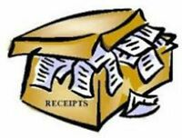 WORRIED ABOUT LAST YEAR'S RECEIPTS??    CALL ME, I CAN HELP !