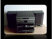 BUSH HI-FI SYSTEM & SPEAKERS - FOR SALE