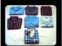 MEN'S PYJAMA SHIRTS - XL/XXL - (7) - FOR SALE