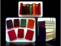 SELECTION OF VINTAGE REFERENCE BOOKS - HARDCOVER - FOR SALE