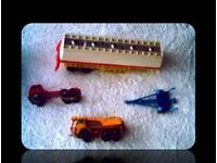 VINTAGE MATCHBOX VEHICLES - (4) - FOR SALE