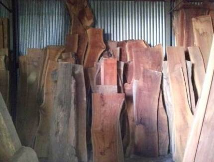 Timber Slabs, Sawn Timbers from Salvaged Logs