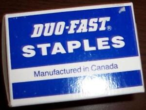 Duo-Fast Staples – ONLY $8 for 2 boxes London Ontario image 2