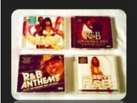 MUSIC CDS - R&B COMPILATION - (9 discs) - FOR SALE