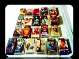 LEADING MAN VHS TAPES - 22 FILMS - FOR SALE